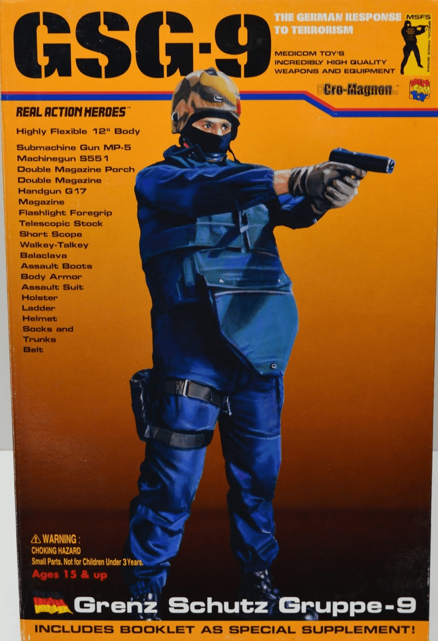 Medicom Real Action Hero GSG-9 German Special Forces Figure