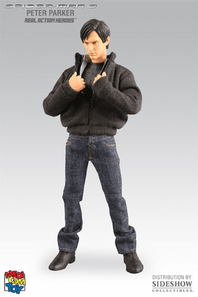 Medicom Real Action Heroes Spider-man 3 Peter Parker Figure