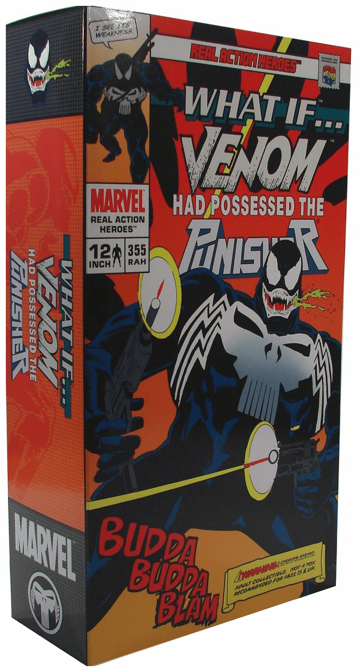 Medicom Real Action Heroes What If Venom Punisher Figure