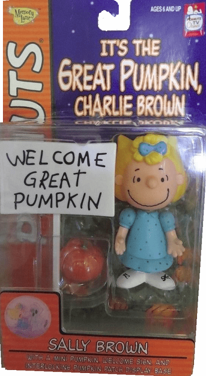 Memory Lane Peanuts The Great Pumpkin Sally Figure