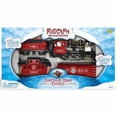 Memory Lane Rudolph the Red-Nosed Reindeer Train Set