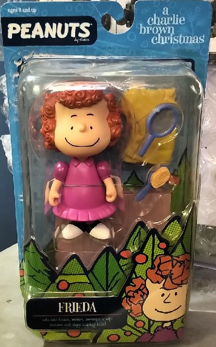 Memory Lane Toys Peanuts Charlie Brown Christmas Frieda Figure