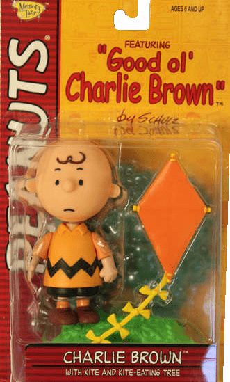Memory Line Peanuts Good Ol' Charlie Brown in Orange Shirt Figure