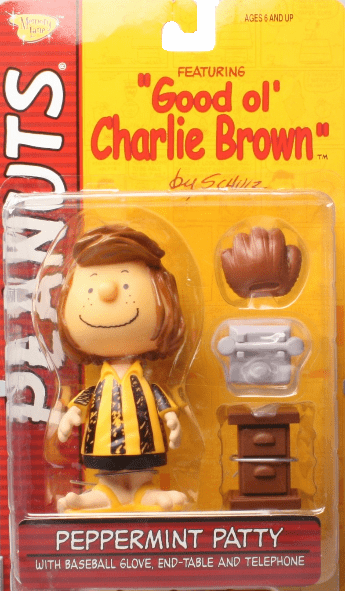 Memory Line Peanuts Good Ol' Charlie Brown Peppermint Patty Figure