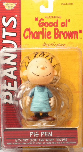 Memory Line Peanuts Good Ol' Charlie Brown Pig Pen Figure