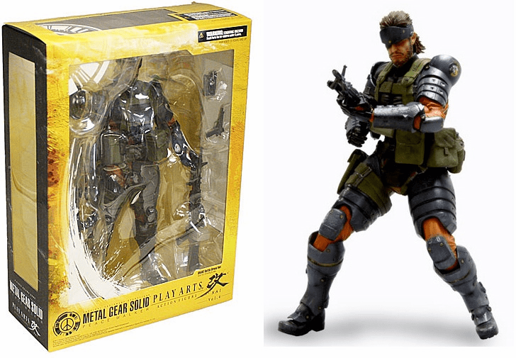 Metal Gear Solid Play Arts Peace Walker Battle Dress Snake Figure