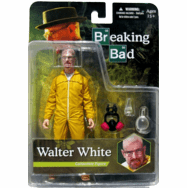 Mezco Breaking Bad Walter White Yellow Hazmat Suit Figure