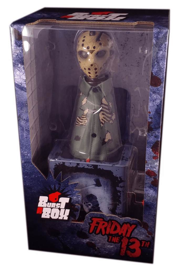 Mezco Friday the 13th Jason Voorhees Burst-A-Box