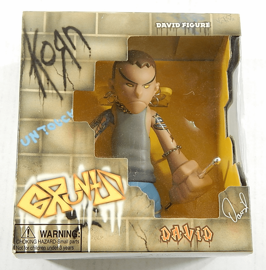 Mezco Gruntz KoRn David Figure