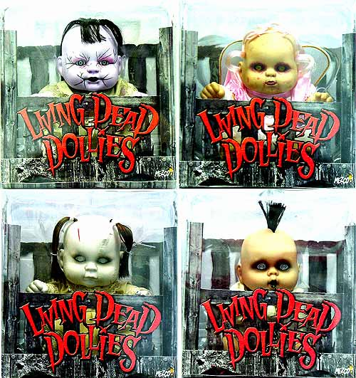 Mezco Living Dead Dollies Series 1 Doll Set