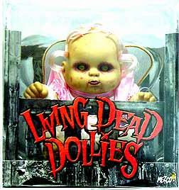 Mezco Living Dead Dollies Series 1 Lulu Doll