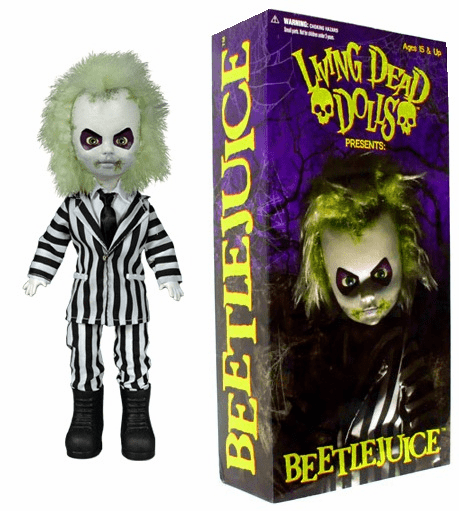 Mezco Living Dead Dolls Beetlejuice Doll