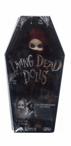 Mezco Living Dead Dolls Scary Tales Evil Stepmother The Queen Doll