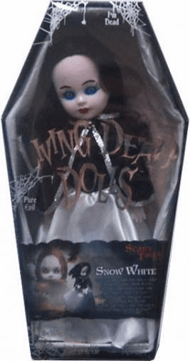 Mezco Living Dead Dolls Scary Tales Snow White Doll