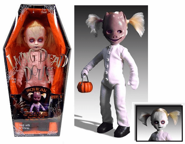 Mezco Living Dead Dolls Series 16 Squeak Doll