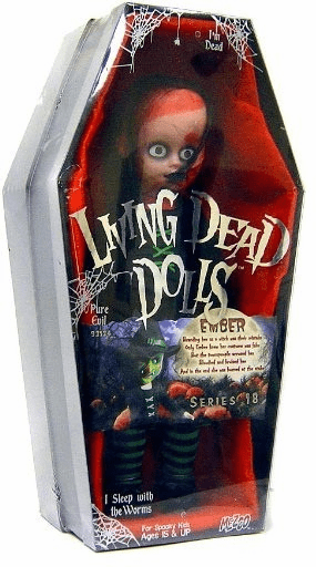 Mezco Living Dead Dolls Series 18 Ember Figure