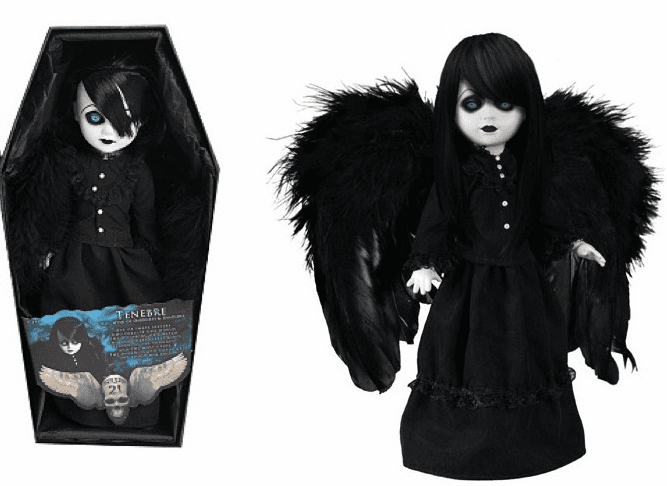 Mezco Living Dead Dolls Series 21 Tenebre Figure