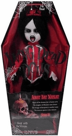 Mezco Living Dead Dolls Series 24 Agrat-Bat-Mahlat Figure