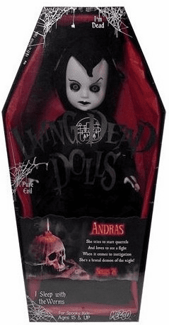Mezco Living Dead Dolls Series 24 Andras Figure