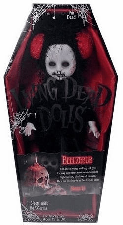 Mezco Living Dead Dolls Series 24 Beelzebub Figure
