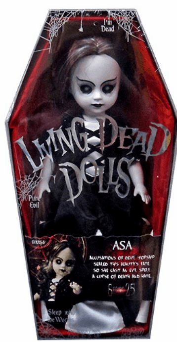 Mezco Living Dead Dolls Series 25 Asa Doll