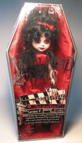 Mezco Living Dead Dolls Series 5 Jezebel Figure