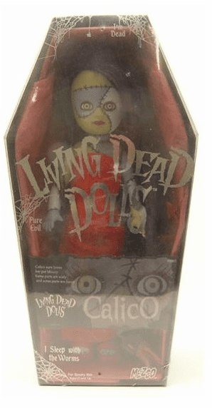 Mezco Living Dead Dolls Series 6 Calico with Muzzy Figure