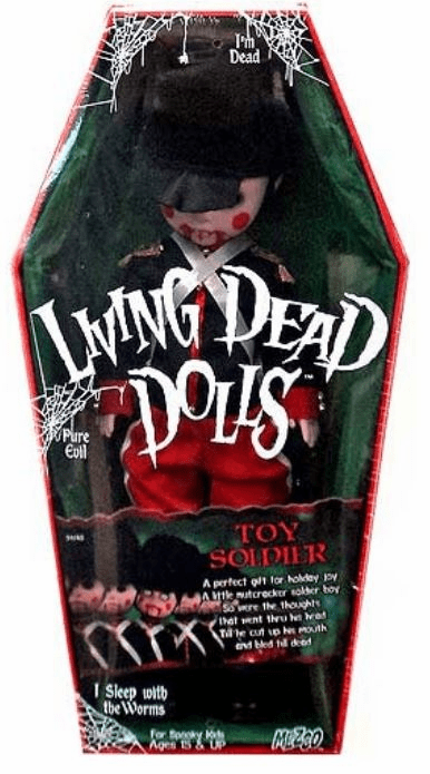 Mezco Living Dead Dolls Toy Soldier Figure