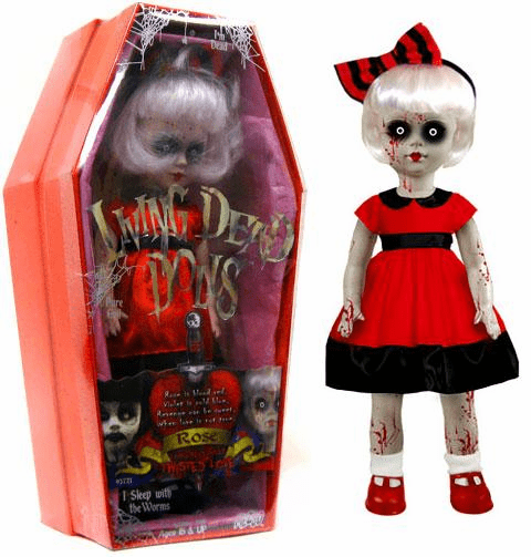 Mezco Living Dead Dolls Twisted Love Rose Doll