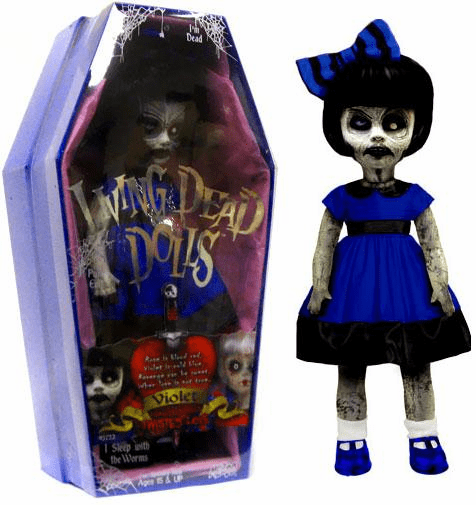 Mezco Living Dead Dolls Twisted Love Violet Doll