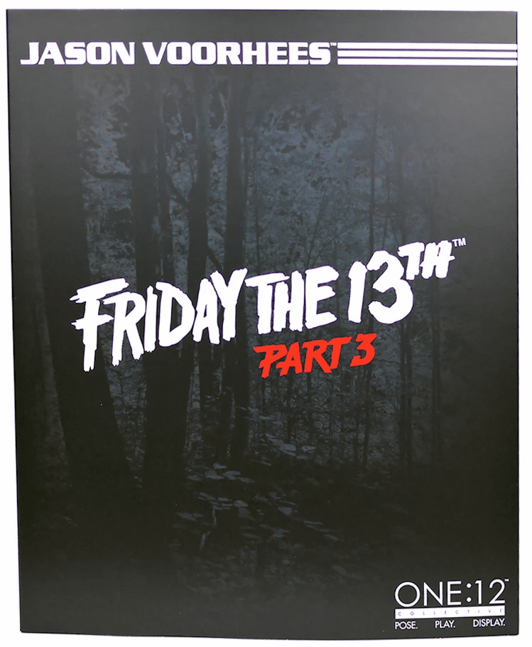 Mezco One 12 Friday The 13th Part 3 Jason Voorhees Figure
