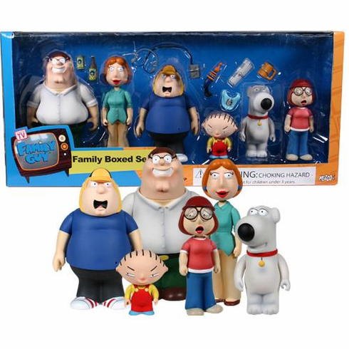 Mezco Series 1.5 Family Guy Box Set of 6 Action Figures