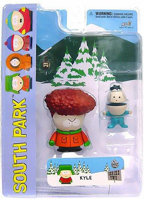 Mezco South Park Afro Kyle Figure