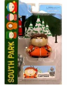 Mezco South Park Hippie Exterminator Cartman Action Figure