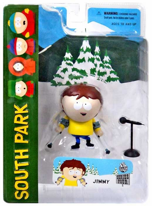 Mezco South Park Jimmy Action Figure