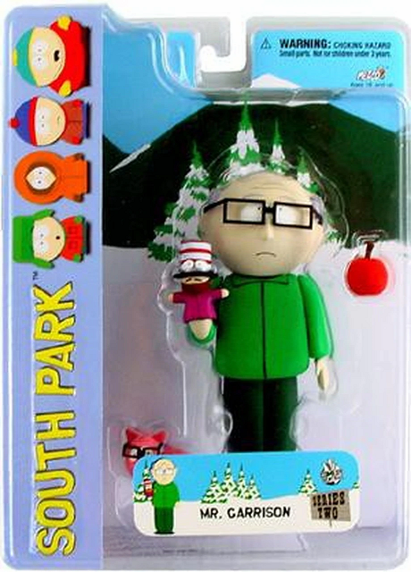 Mezco South Park Mr. Garrison Figure