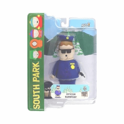 Mezco South Park Officer Barbrady Figure