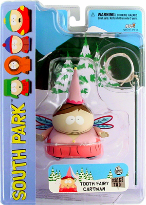 Mezco South Park Tooth Fairy Cartman Action Figure