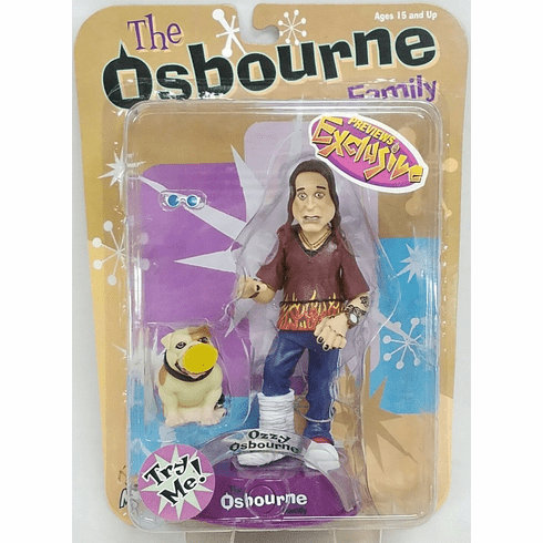 Mezco The Osbourne Family Ozzy Osbourne Hobbled Figure