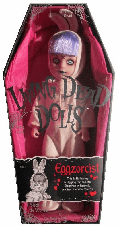 Mezco Toyz Living Dead Dolls 13th Anniversary Eggzorcist Doll