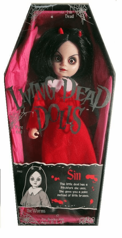 Mezco Toyz Living Dead Dolls 13th Anniversary Sin Doll