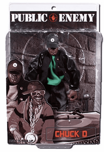 Mezco Toyz Rap Stars Public Enemy Chuck D Action Figure