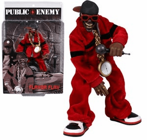 Mezco Toyz Rap Stars Public Enemy Flavor Flav Action Figure