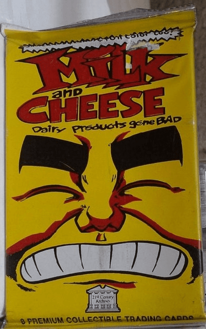 Milk and Cheese Dairy Products Gone Bad Trading Cards Pack