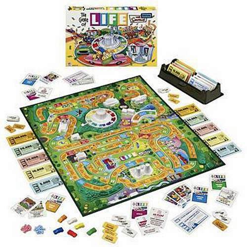 Milton Bradley The Game of Life The Simpsons Board Game Edition