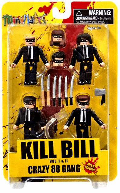 Minimates Kill Bill Crazy 88 Gang Figure Set