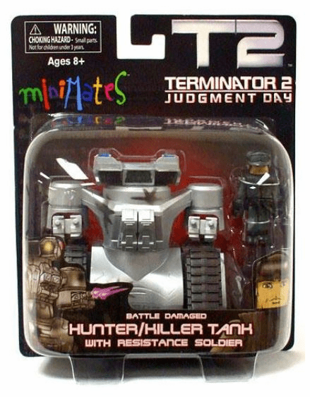 Minimates Terminator 2 Hunter Killer Tank