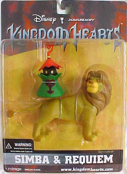 Mirage Disney Kingdom Hearts Simba & Requiem Action Figure Set