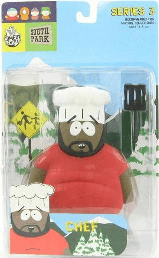 Mirage South Park Chef Action Figure