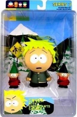 Mirage South Park Tweek with Underpants Gnomes Figure